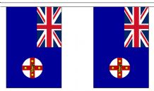 NEW SOUTH WALES (AUSTRALIA)  BUNTING - 9 METRES 30 FLAGS